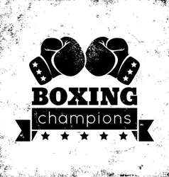 boxing vector image vector image