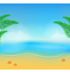 summer beach28 vector image