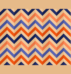 bright stylish background with a zigzag vector image