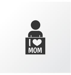 Placard icon symbol premium quality isolated i vector