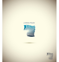 Logo technology business abstract design template vector