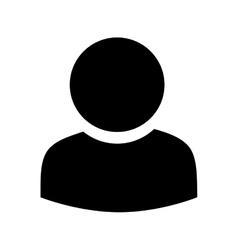 profile avatar person male vector image