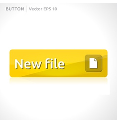 New file button template vector