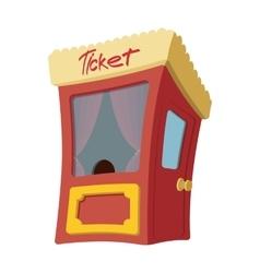 Movie cartoon box office vector image vector image