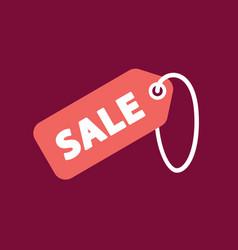 Sale tag icon vector