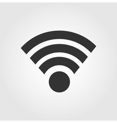 Wi fi icon flat design vector