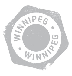 Winnipeg stamp rubber grunge vector
