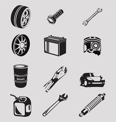 auto icon vector image