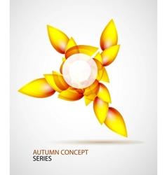 Autumn symbol vector
