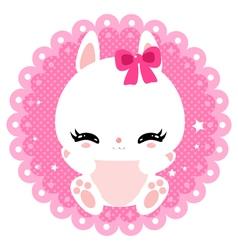 bunny 19 vector image vector image