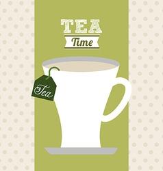 Delicious tea vector