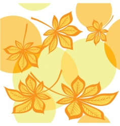 maple autumn vector image