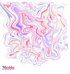 Pink blue red and violet colors marble style vector image
