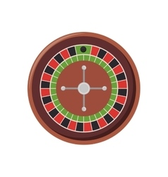 Roulette casino machine vector