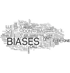 What s bias got to do with it text word cloud vector