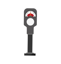 Parking meter icon vector