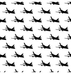 Plane pattern seamless vector image