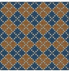 Argyle background pattern vector