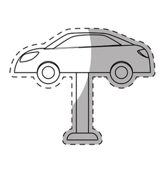 Car workshop related icons image vector