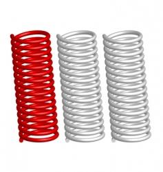 springs vector image