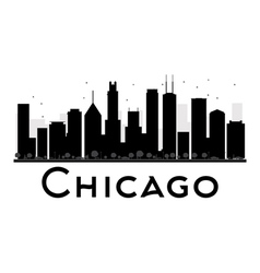 Chicago silhouette vector