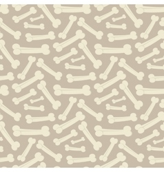 Dog bone pattern vector image