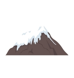 Mount fuji japan isolated vector