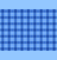 Tartan plaid blue vector