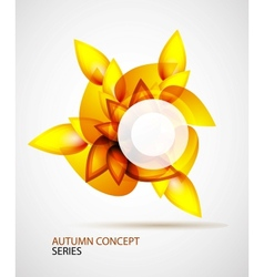 Autumn symbol vector image