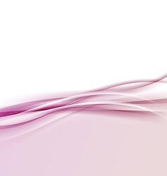 Modern pink halftone border wave background vector image vector image