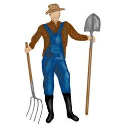 Farmer vector