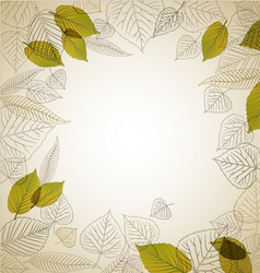 Leafs abstract background vector