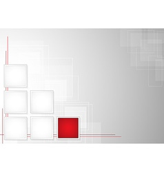 Abstract Squares Background vector image vector image