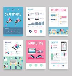 Business flyer vector