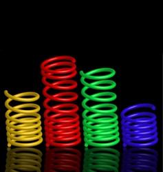 Colour springs vector