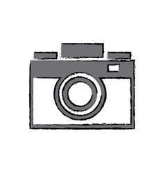 Photo camera flash lens image vector