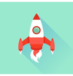start up and launch vector image