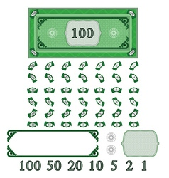 Play money vector