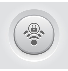 Secure access icon vector