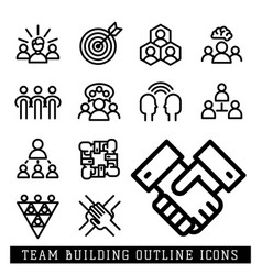Business team building people vector
