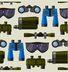 Camera lens and binoculars glass spypyglass vector
