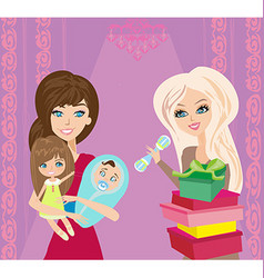 Gifts for children vector