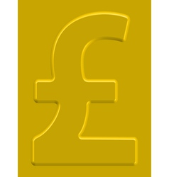 Pound sterling vector