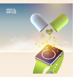 technologic abstract concept vector image