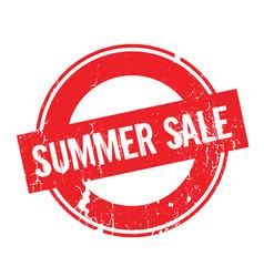 Summer sale rubber stamp vector