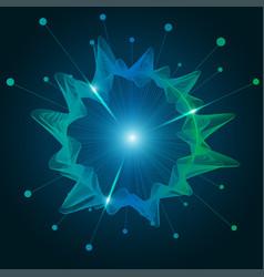circle wave vector image