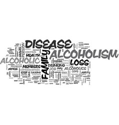 Alcoholism as a disease not a weakness text word vector