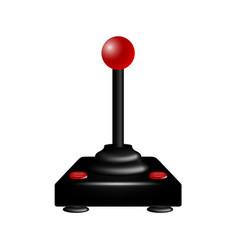 Joystick in retro design vector