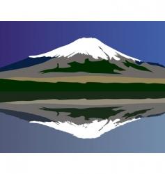 Mt fuji vector