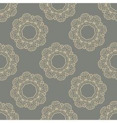 Seamless doodle tile vector